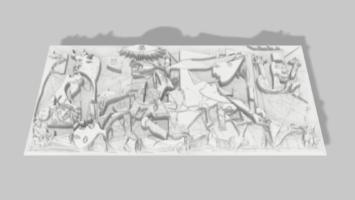 Modelo 3D del Guernica de Picasso